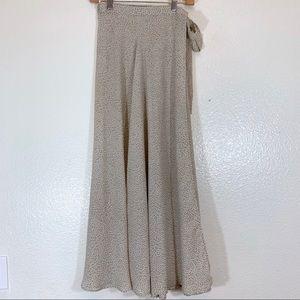 Express Vintage Wrap Skirt